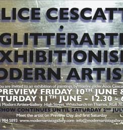 alice cescatti, exhibition, solo show