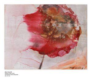 Melting Poppy Study by Alice Cescatti